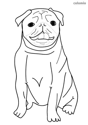 Dibujo de Doguillo para colorear