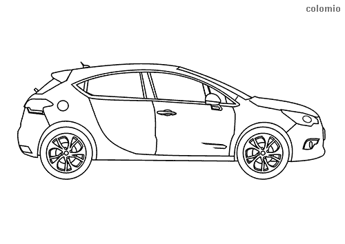 Subcompact coloring sheet